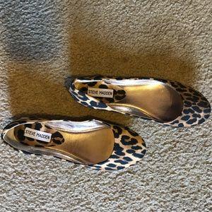 Steve Madden cheetah flats